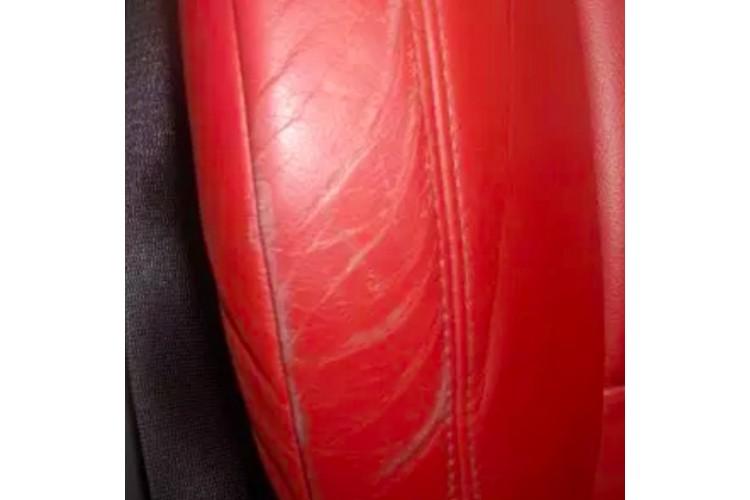 Заличаване на драскотини върху боядисана кожа